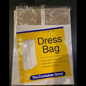 """The Container Store Dress Bag 15"""" x 20"""" x 54"""""""
